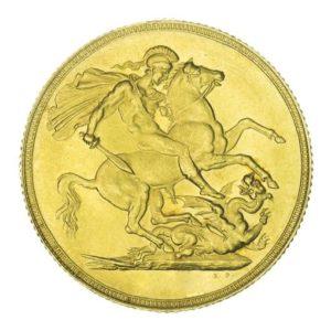 sterline d'oro da investimento