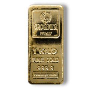 Lingotto d'oro da 1 kg