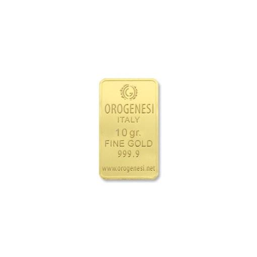 Lingotto d'Oro 10 Grammi - fronte