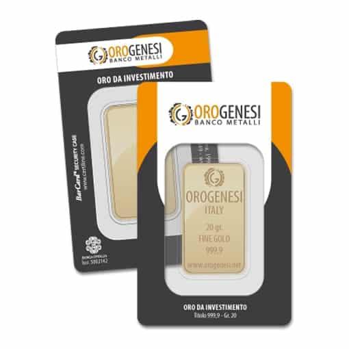 Lingotto d'Oro 20 Grammi