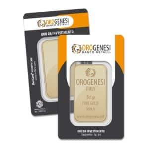 Lingotto d'Oro 50 Grammi