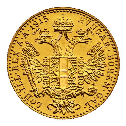 1 Ducato d'Oro Austria retro
