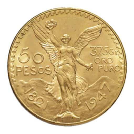 50 Pesos Messicani Oro