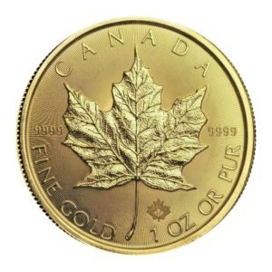 Maple Leaf Oro 2018 retro