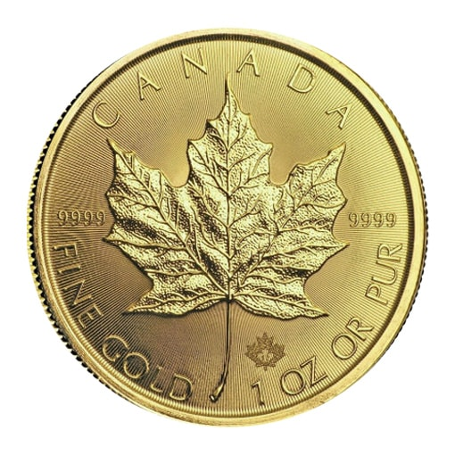 Maple Leaf Oro 2018 retro