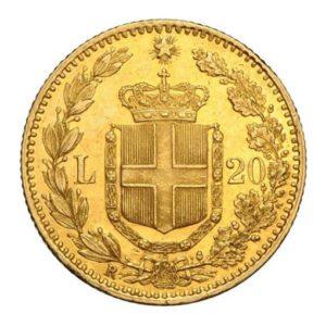Marengo Italiano 20 lire retro