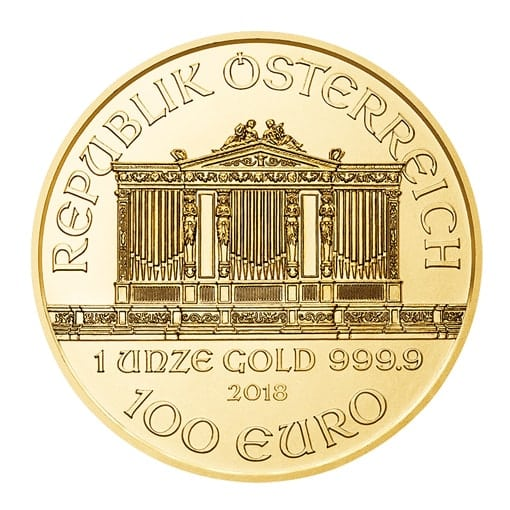 Philharmoniker 2018 1 oz retro