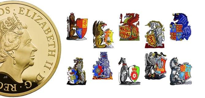 Queens Beast Simboli Araldici