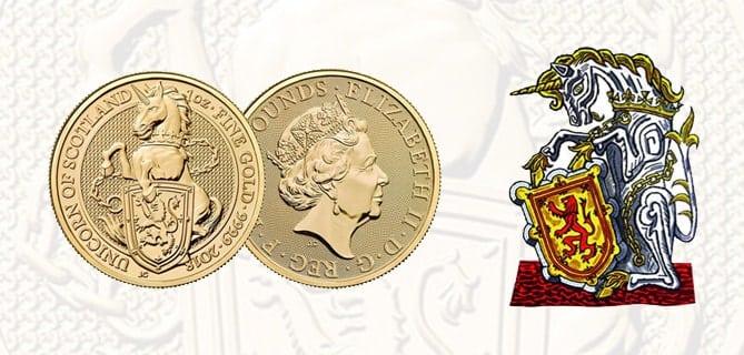 Queen's Beast Unicorno di Scozia