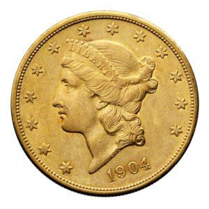 20 Dollari Americani Liberty Head
