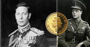 Re Giorgio VI - Edoardo VIII