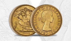 Sterlina Oro Regina Elisabetta II