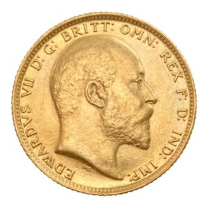 Sterlina d'Oro Edoardo VII