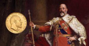 Sterlina Oro Re Edoardo VII