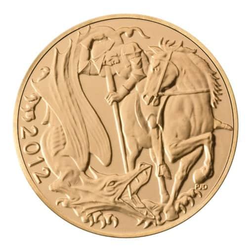Sterlina Oro 2012 Giubileo