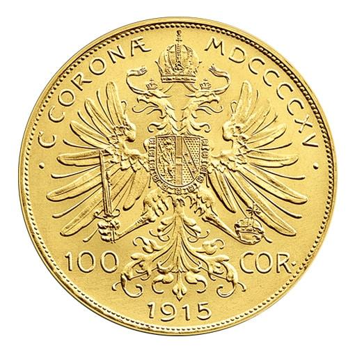 100 Corone d'Oro Austria - Retro