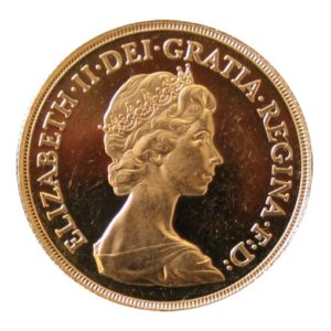 2 Sterline Oro 1983 Proof