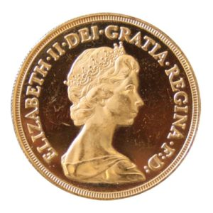 5 Sterline Oro 1984 Proof