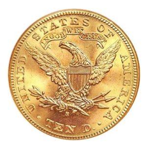 10 Dollari oro - Aquila