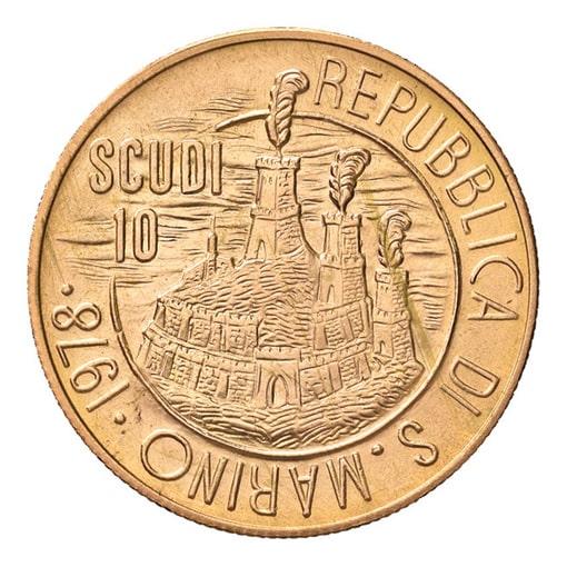 10 Scudi 1978 San Marino