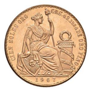 100 Soles Oro Peru