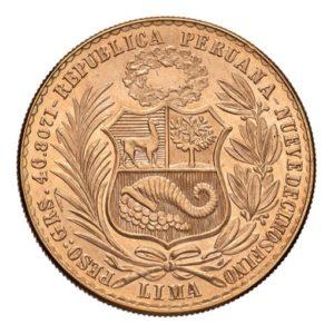 100 Soles Oro Peru - Retro