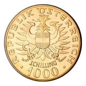 1000 scellini oro Babenberger