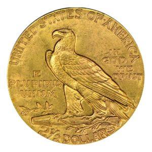 2,5 Dollari oro Pratt - Indiano