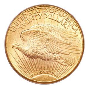 20 Dollari oro - Doppia Aquila