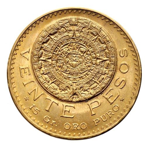20 Pesos Oro Messico