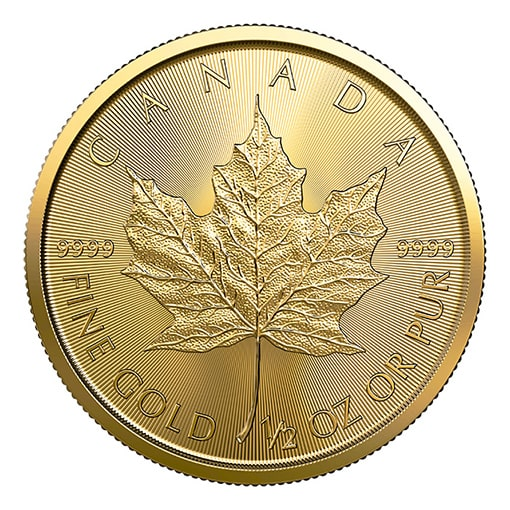 Maple Leaf 2019 - 1/2 Oz