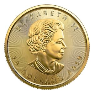 Maple Leaf 2019 - 1/4 Oz
