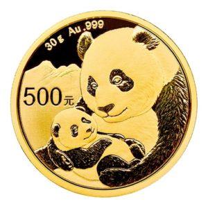 Panda Cinese Oro 30 gr