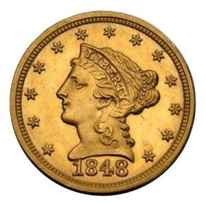 2,5 dollari liberty head
