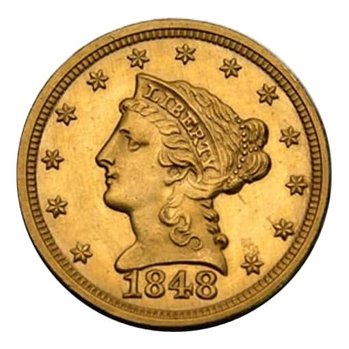 2,5 dollari liberty head