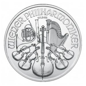 Philharmoniker Argento 1 oz - Retro