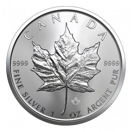 Maple Leaf Argento 2019
