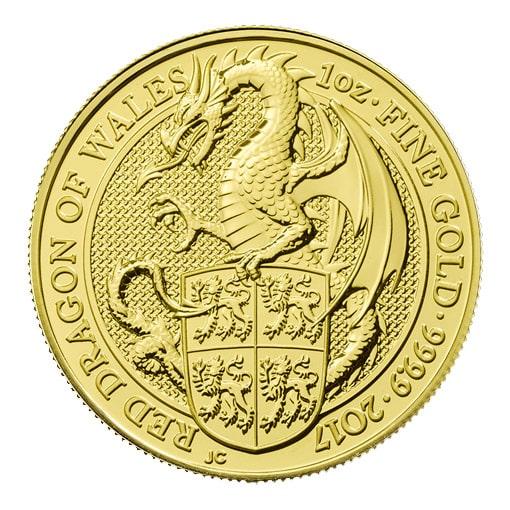 Queen's Beast Oro Drago