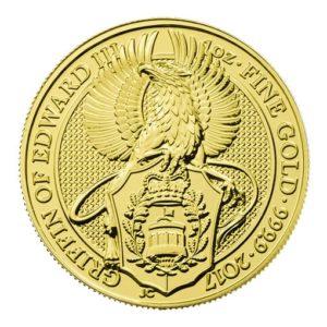 Queen's Beast Oro Grifone