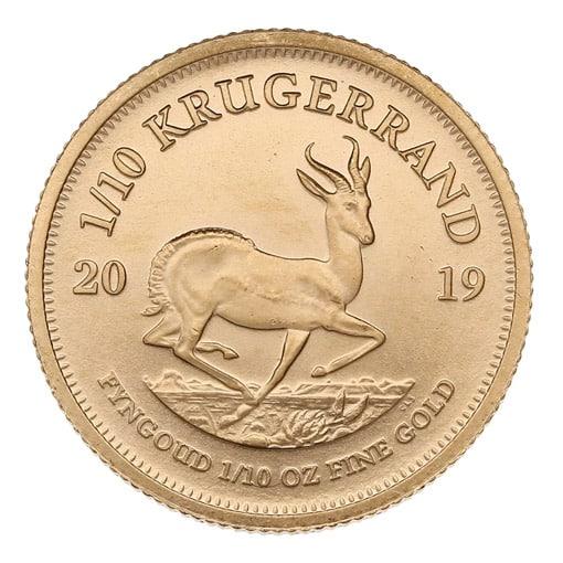 krugerrand oro 1/10 oz