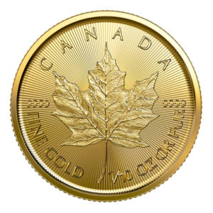Maple Leaf oro 2019 1/10 oz