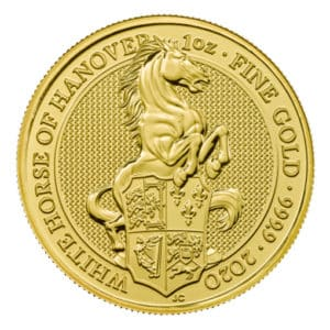 Queen Beasts Falco Oro 1oz