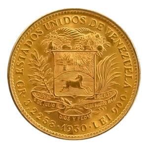 10 Bolivares Oro