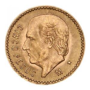 5 Pesos Oro