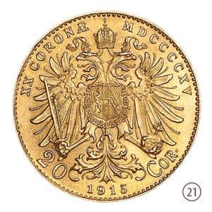 20 Corone Austria
