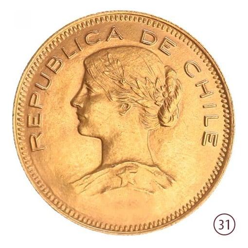 100 pesos cile