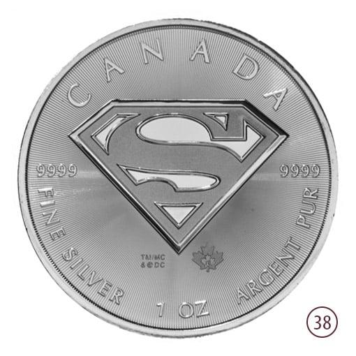 Superman Argento Canada