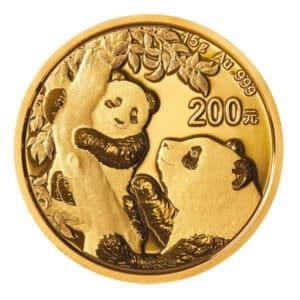 Panda d'Oro 15 gr 2021