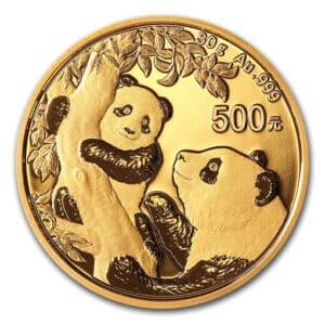 Panda d'Oro 30 gr 2021